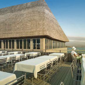 Restaurant Fischerstube in Zürich als Referenz für Jampen Holzbau in Hittnau
